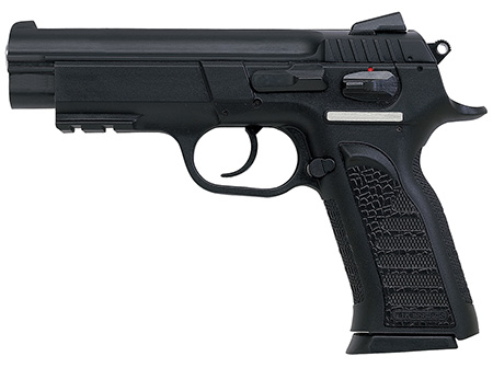 EAA 999104 Witness Polymer Full Size 9mm 4.5″ 17+1 Poly Grip/Frame Blk