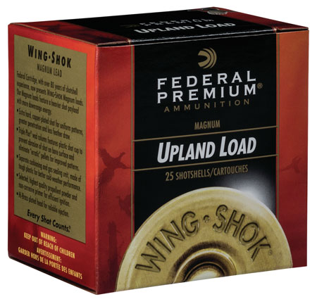 Fed P109BB Prem WingShok Magnum Lead 10 ga 3.5