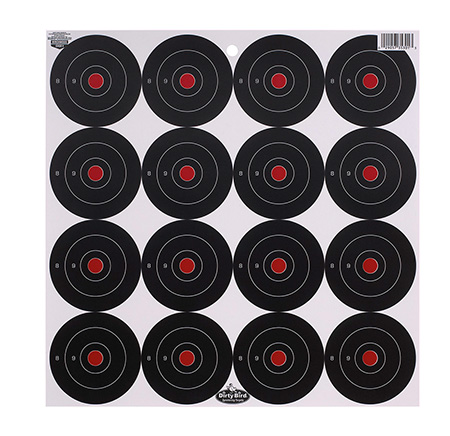Birchwood Casey 35309 Dirty Bird Target 3″ 12 Pack