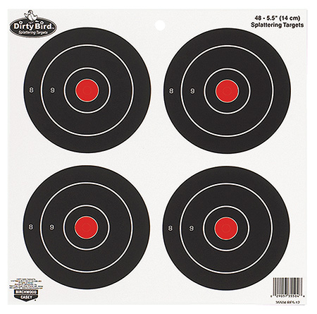 Birchwood Casey 35504 Dirty Bird Target 5.5″ 12 Pack