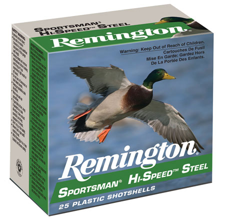 Rem SSTHV12352 Sportsman Steel Loads 12 ga 3.5″ 1.4 oz 2 Shot 25Box/10Case