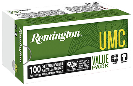 Remington Ammunition L40SW3B UMC 40 S&W Metal Case 180 GR 100Box/6Case