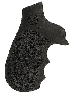 Hogue 73000 Taurus Tracker/Judge Rubber Grip w/Finger Grooves Black