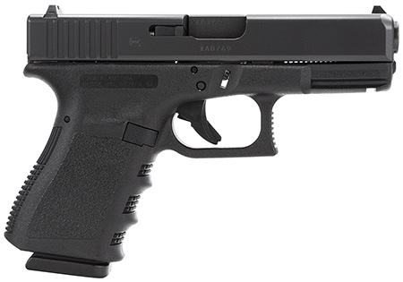 Glock PI3850201 G38 Standard 45 GAP 4.02″ 8+1 Fixed Sights Poly Grip/Frame Black