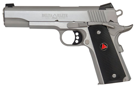 Colt Mfg O2020XE 1911 Delta Elite Single 10mm 5.0″ 8+1  Grip Stainless