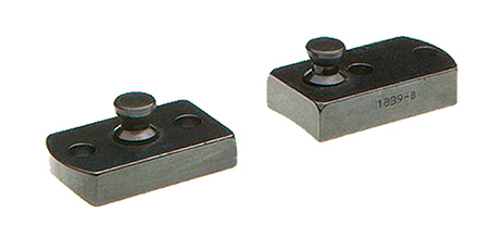 B-Square 1855 Lynx 2-Piece Stud Base For Browning A-Bolt Matte Black Finish