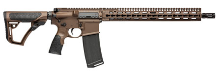"Daniel Defense DDM4 V11 AR-15 Semi Auto Rifle .300 AAC Blackout 16"" Barrel 30 Rounds KeyMod Free Float Hand Guard Collapsible Stock Mil Spec + Cerakote"