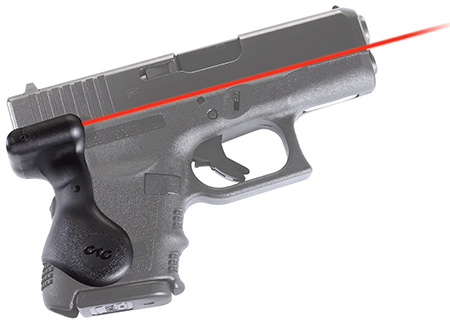 Crimson Trace LG626 Lasergrip Red For Glock Gen3 Sub-Cmpct 26/27 Rear Activation