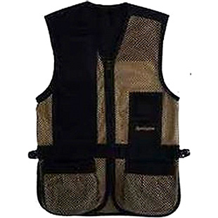 Remington Shooting Vest Deluxe Utility Vest Black Large Mesh Net