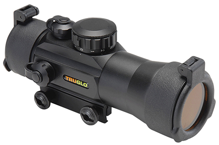 Truglo TG8030B2 Red Dot 2x 42mm Obj Unlimited Eye Relief 2.5  MOA Dot Black