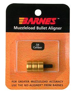 Barnes 30708 Muzzleloader Alignment Tool .54 Cal Brass 0.75