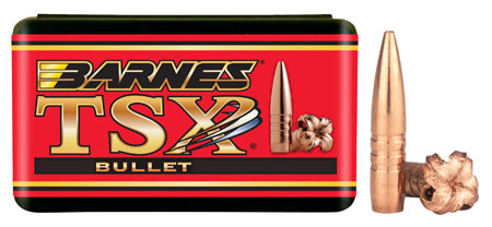 Barnes Bullets 30174 Rifle 22 Caliber .224 50 GR TSX FB 50 Box
