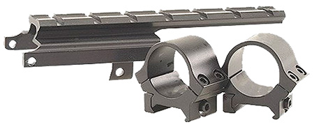 B-Square 18564 Scope Mount w/Rings For Mark 1 #4/5 Weaver Style Black Finish