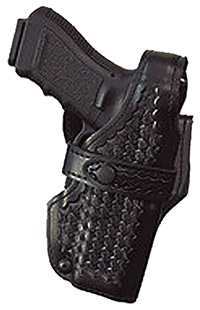 Safariland 07018181 Level III Retention SSIII S&W Basket Leather Blk
