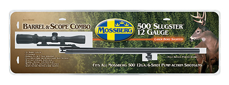Mossberg 92156 500 Barrel 12 Gauge 24″ Cantilever Scope Mount Blued
