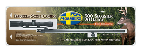 Mossberg 92010 500 Barrel 20 Gauge 24″ Rifled Cantilever Scope Mount Blued