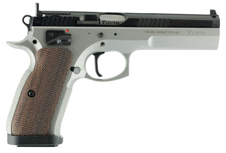 CZ 01171 CZ 75 Tactical Sport Single 40 Smith & Wesson (S&W) 5.23