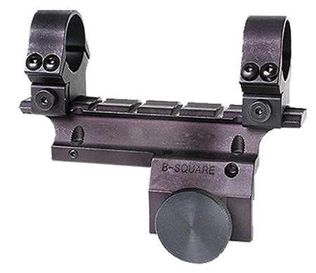 B-Square 14502 Scope Mount w/Rings For Ruger Mini-14 Dovetail Style Black Matte Finish