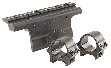 B-Square 18514 Dovetail Scope Mount w/Rings For Springfield M-1A/M14 Matte Black