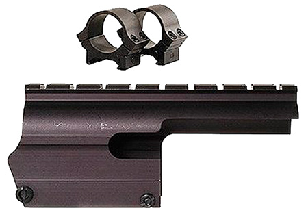 B-Square 16205 Saddle Scope Mount w/Rings For Browning A-5 12 Gauge Matte Black