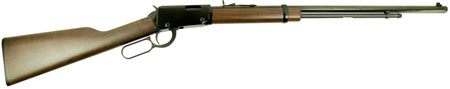 Henry H001TLB Frontier Lever Action 22 Short/Long/Long Rifle 24″ 16 LR/21 Short American Walnut Stk Blued
