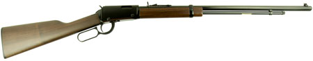 Henry H001TMLB Frontier Lever Action 22 Magnum 24″ 12+1 American Walnut Stk Blued