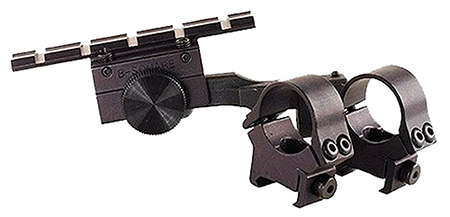 B-Square 18477 Weaver Style Scope Mount w/Rings For Springfield 1903 A3 Black