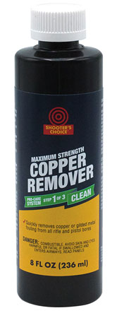 Shooters Choice CRS08 Copper Remover Extra Strength Cleaner/Degreaser 8 oz