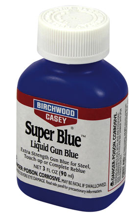 Birchwood Casey 13425 Super Blue Liquid Gun Gun Blue 3 oz