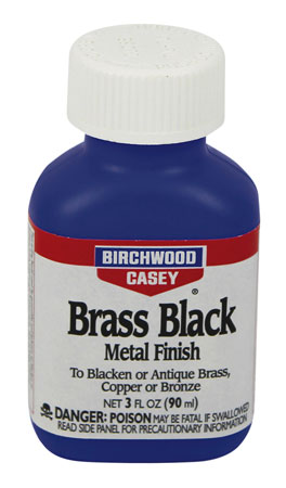 Birchwood Casey 15225 Brass Black Metal Touch-Up Brass Black Metal Touch-Up 3 oz