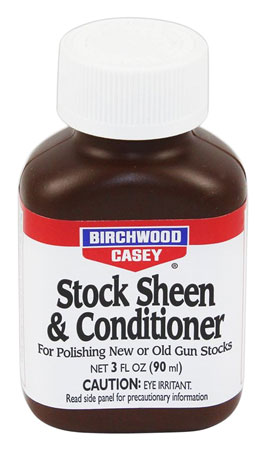 Birchwood Casey 23623 Stock Sheen/Conditioner 3oz Wood Finish