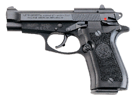 Beretta J84F200 84 FS Cheetah SA/DA 380 ACP 3.8″ 10+1 Black Synthetic Grip Black