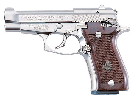 Beretta J84F212 84 FS Cheetah SA/DA 380 ACP 3.8″ 10+1 Walnut Grip Nickel Finish