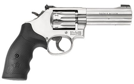S&W 160584 617 K-22 Masterpiece 22 LR 4″ 10rd Square Butt Syn Grip Stainless
