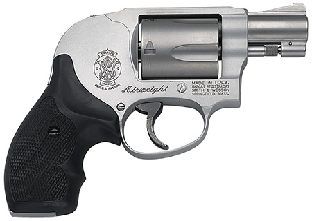 S&W 163070 M638 Airweight 38 Special +P 1.87″ 5rd Syn Grip Matte SS