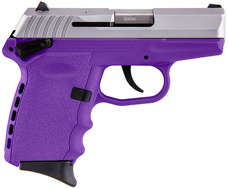 SCCY CPX1TTPU 9MM 3.1 SS      10 PRPL
