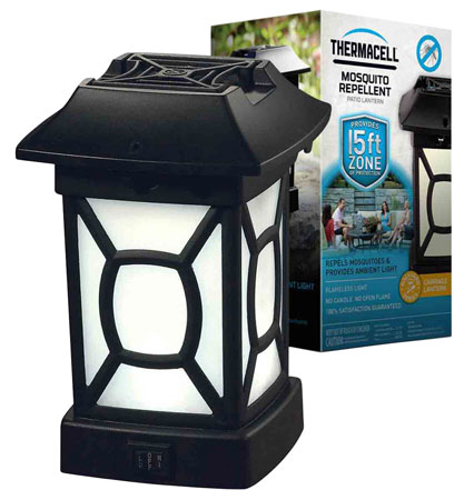 Thermacell MR9W Cambridge Lantern Mosquito, Black Fly, No-See-Ums