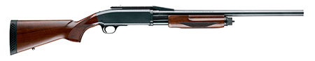 Browning 012214324 BPS Pump 12GA 22″ 3″ Walnut, Satin Blued Finish
