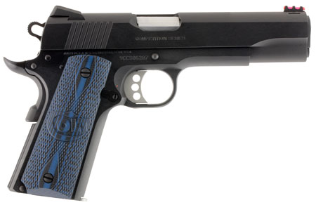 Colt Mfg O1972CCS 1911 Competition Single 9mm Luger 5″ 9+1 Blue G10 Grip Blued Carbon Steel