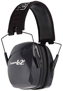 Howard Leight R01525 Leightning L2F Folding Passive Earmuff NRR 27dB Black/Gray