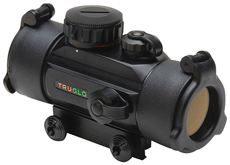 Truglo TG8030B Red Dot 1x 30mm Obj Unlimited Eye Relief 5 MOA Matte Black
