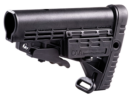 Command Arms CBS AR-15 Collapsible Commercial Stock No Buffer Tube Black