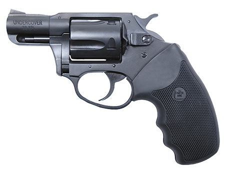 Charter Arms 13820 Undercover 38 Special 2″ 5rd Blk Rubber Grip Blued