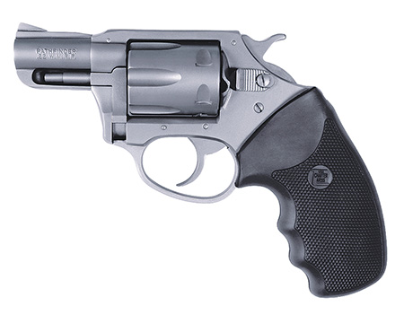 Charter Arms 72324 Pathfinder 22 Mag 2″ 6rd Blk Rubber Grip Stainless Steel