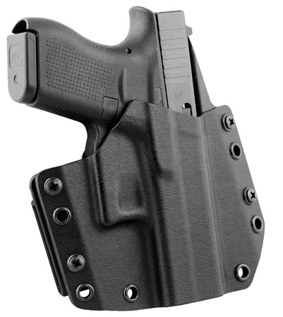 Mission First Tactical HGL42OWBBL MFT OWB  Glock 42 Kydex Black