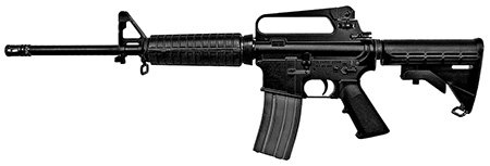 Olympic Arms K3B K3B Carbine Semi-Automatic 223 Remington/5.56 NATO 16