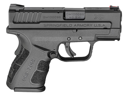 SPRINGFIELD XD MOD 2 40 S&W SUB-COMPACT BLK