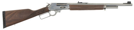 Marlin 70464 1895GS Lever 45-70 Govt 18.5″ 4+1 Walnut Stock Stainless