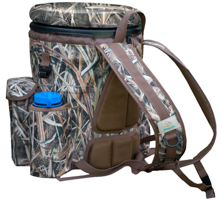 Peregrine PFGVB1SGB Venture Bucket Pack Shooting Bag Bucket Nylon  Mossy Oak Shadow Grass Blades