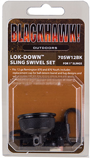 Blackhawk 70SW12BK Lok-Down Swivel Set/Mag Cap Rem 870 & Yth External 1